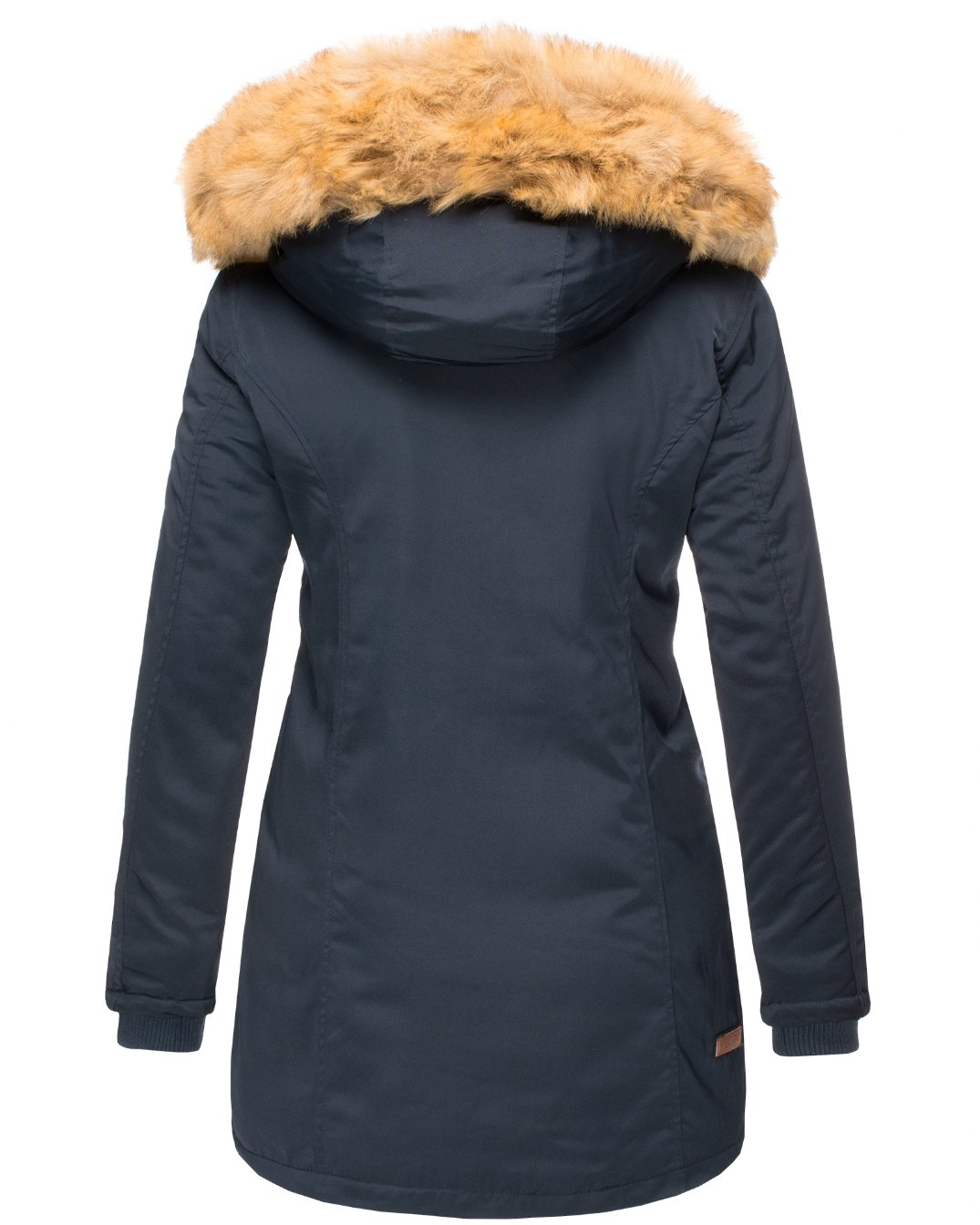 Karmaa Damen Wintermantel blue