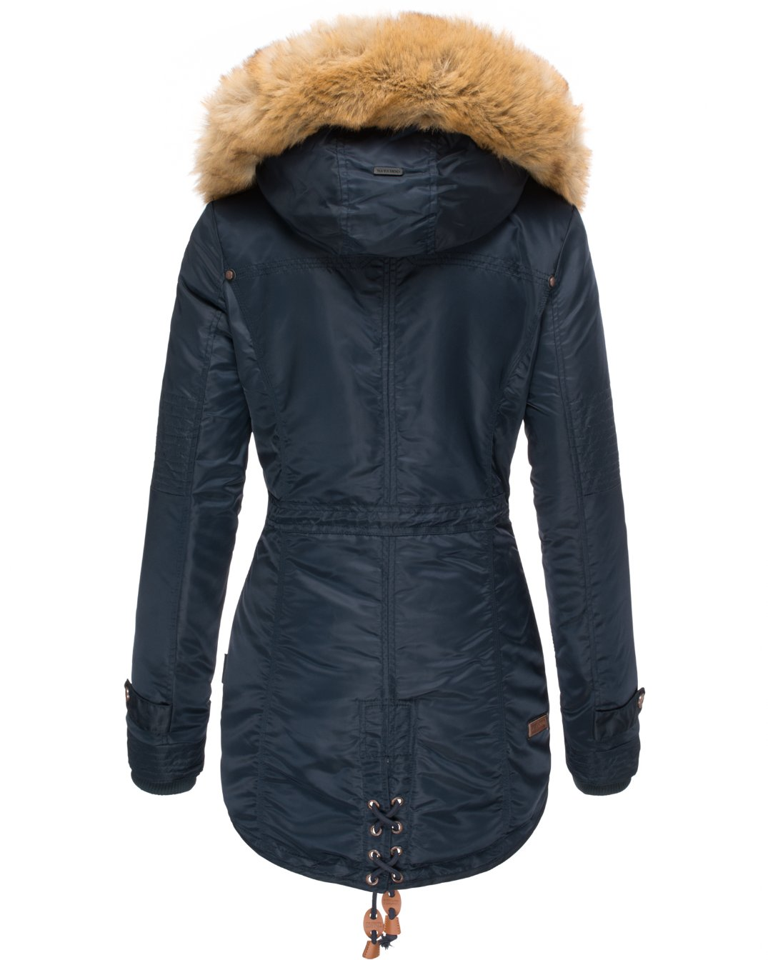 La Viva Navahoo Damen Wintermantel Blue