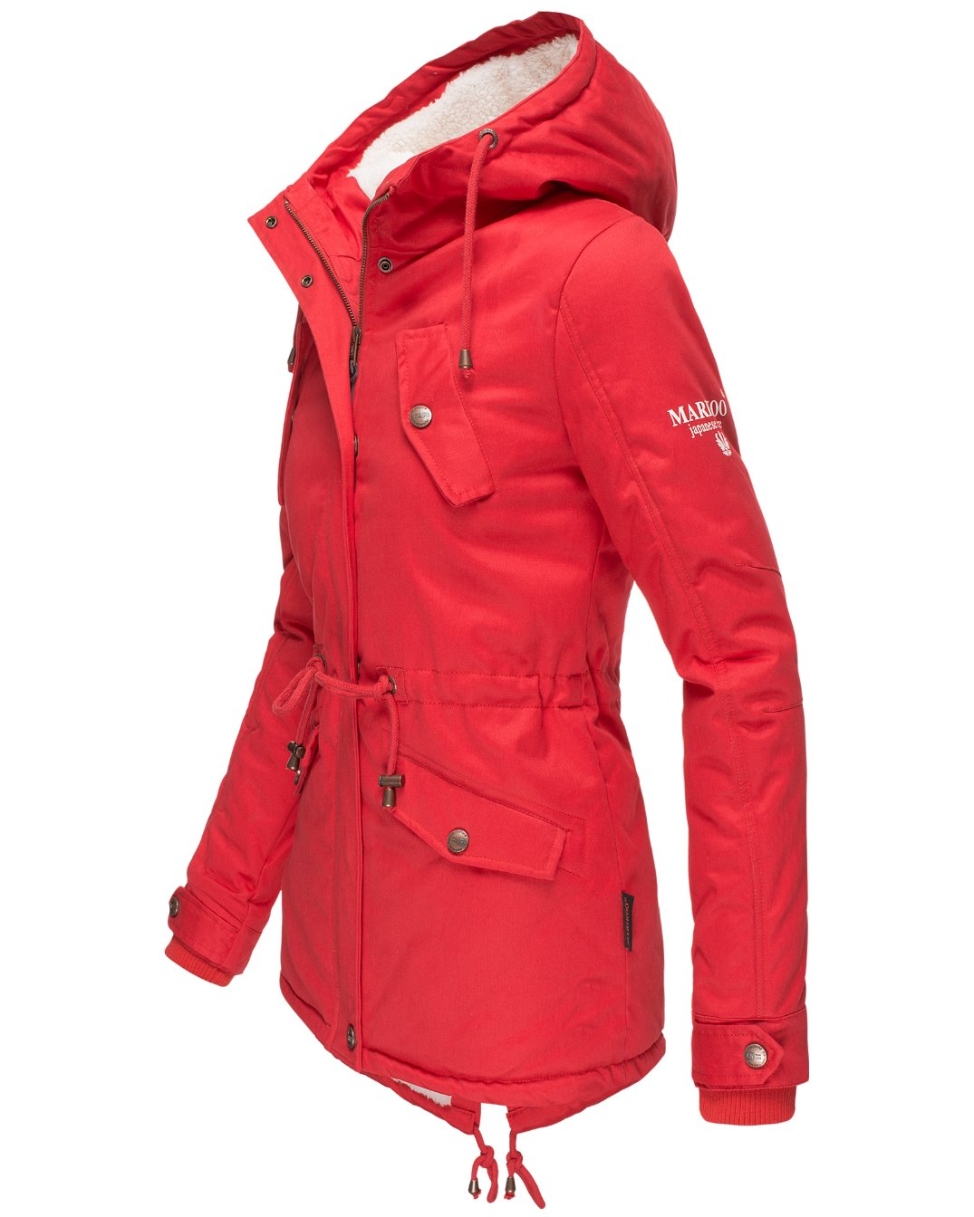 Manolya Navahoo Damen Winterjacke red