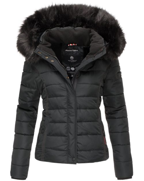 Miamor Navahoo Damen Winterjacke Black