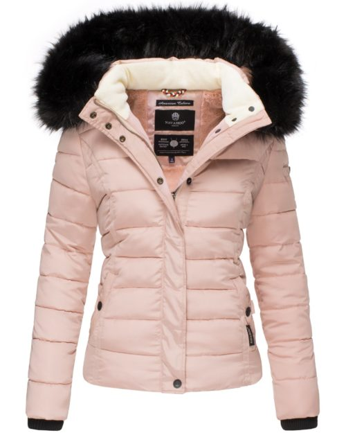 Miamor Navahoo Damen Winterjacke Rose