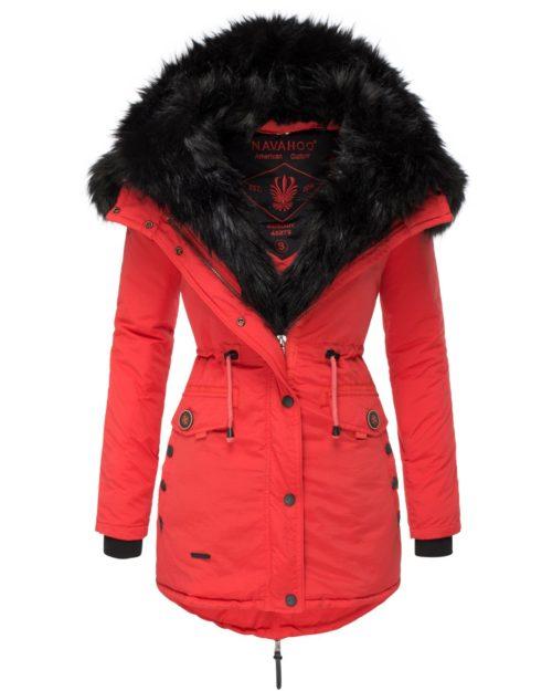Sweety Damen Wintermantel Red