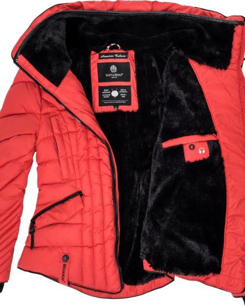 Nimmersatt Navahoo Damen Winterjacke Red