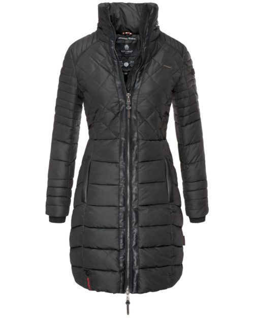 Ronin Navahoo Damen Wintermantel Black