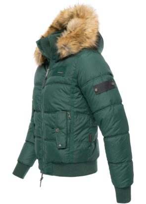 Sky Captain Navahoo Herren Winter Steppjacke Green